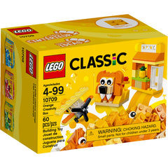 LEGO® CLASSIC Orange Creativity Box