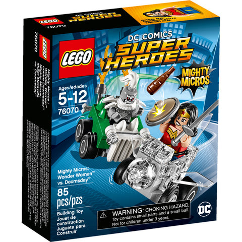 LEGO® DC Comics Super Heroes Mighty Micros: Wonder Woman™ vs. Doomsday™