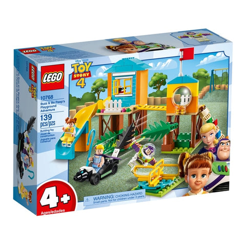LEGO® JUNIORS Toy Story 4 Buzz & Bo Peep's Playground Adventure