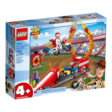 LEGO® JUNIORS Toy Story 4 Duke Caboom's Stunt Show