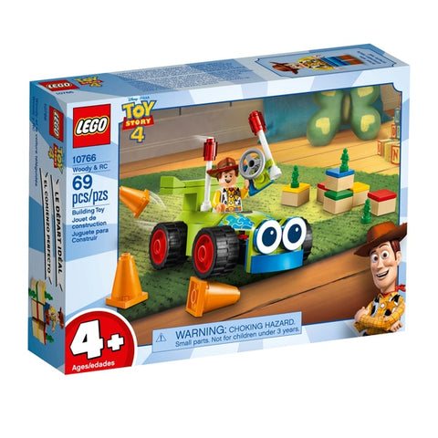LEGO® JUNIORS Toy Story 4 Woody & RC