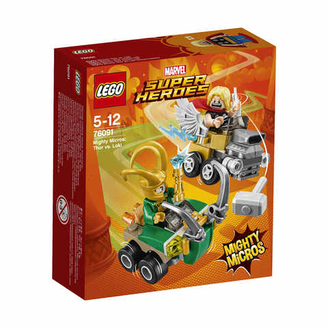 LEGO® Marvel Super Heroes Mighty Micros Thor vs. Loki 1