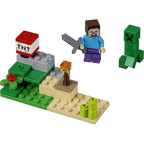 LEGO® Minecraft Steve and Creeper
