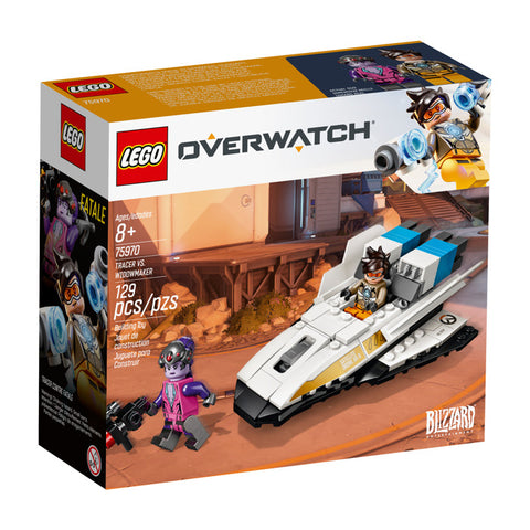 LEGO® Overwatch Tracer vs. Widowmaker