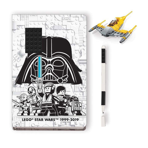 LEGO® Star Wars Naboo Starfighter w/Notebook & Pen