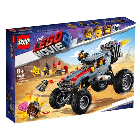 LEGO® The Lego Movie 2 Emmet and Lucy's Escape Buggy!