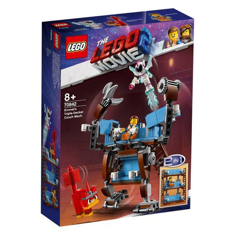LEGO® The Lego Movie 2 Emmet's Triple-Decker Couch Mech