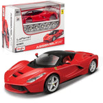 MAISTO 1:24 LaFerrari Die-cast Assembly Line Kit in Red