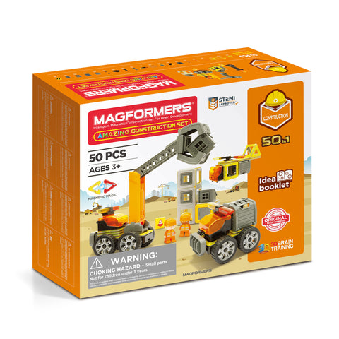MAGFORMERS Amazing Construction Set 50 Pcs 717004