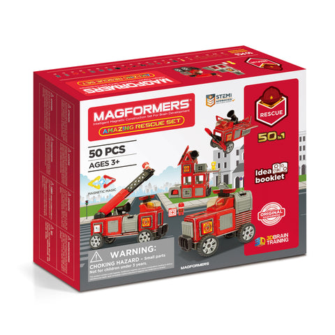 MAGFORMERS Amazing Rescue Set 50 Pcs 717003