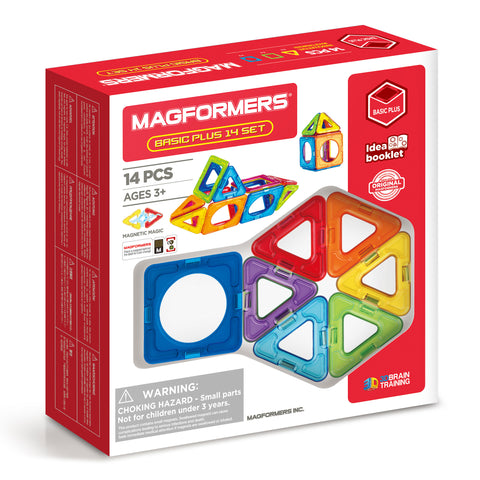 MAGFORMERS Basic Plus Set 14 Pcs
