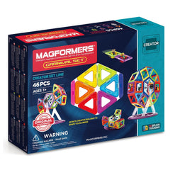 MAGFORMERS Carnival Set 46 Pcs | Ages 3+ | 703001