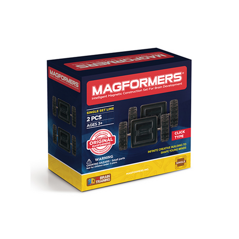 MAGFORMERS Click Wheels 2 Pc