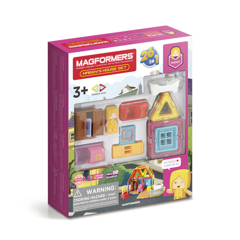 MAGFORMERS Maggy's House Set 33 Pcs