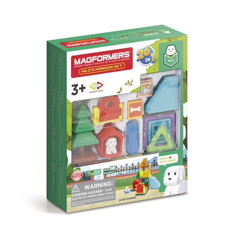 MAGFORMERS Milo's Mansion Set 33 Pcs