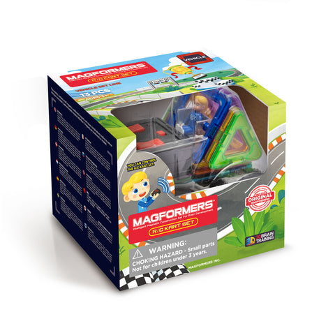 MAGFORMERS Rally Kart RC Set 13 Pcs