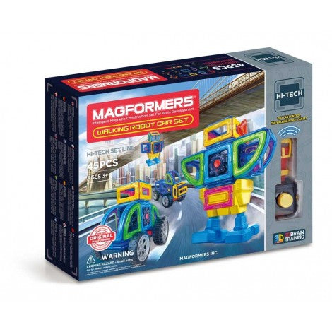 MAGFORMERS Walking Robot Car Set 45 Pccs 709008