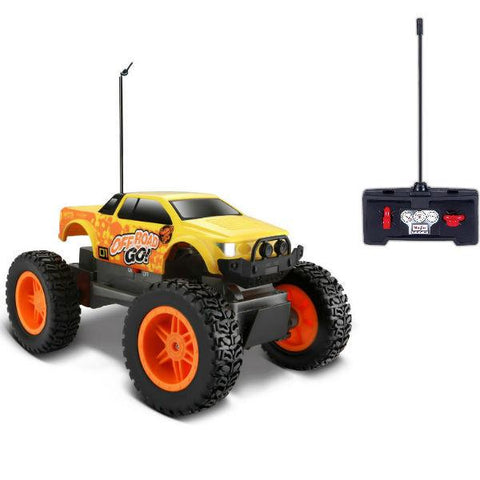 MAISTO Tech R/C Off-Road OFFROAD GO! 2WD in Orange/Yellow