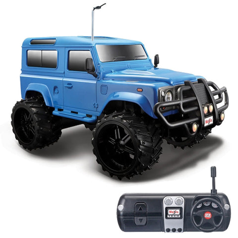 MAISTO Tech R/C Off-Road Series Land Rover Defender Blue