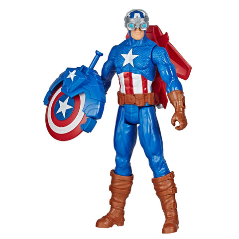 Marvel Avengers Titan Hero Series Blast Gear CAPTAIN AMERICA
