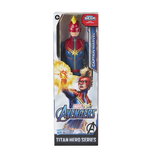 Marvel Avengers Titan Hero Series Captain Marvel Action Figure