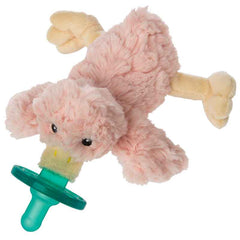 Mary Meyer Blush Putty Duck Wubbanub Pacifier