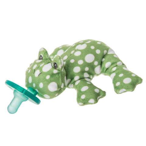 Mary Meyer Fizzy Frog WubbaNub Pacifier