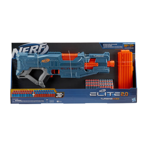 NERF Elite 2.0 Turbine CS-18 Motorized Blaster (with 36 darts)