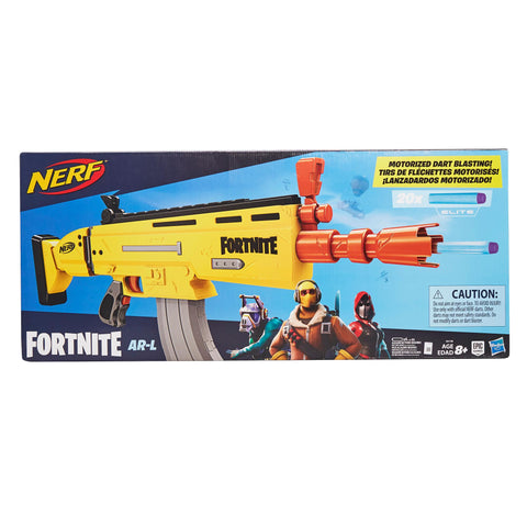 NERF Fortnite Elite Motorized Dart Blaster AR-L