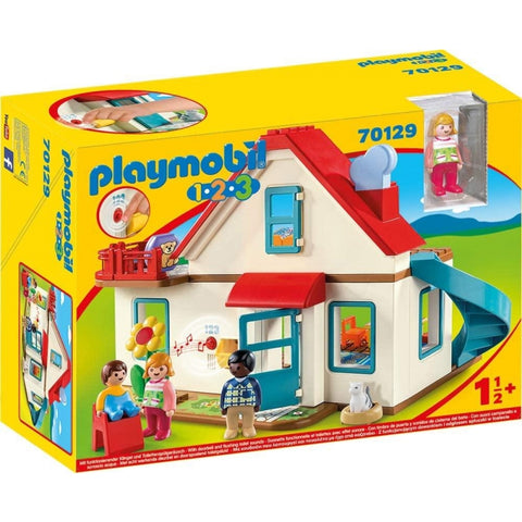 PLAYMOBIL 1.2.3 Family Home 70129