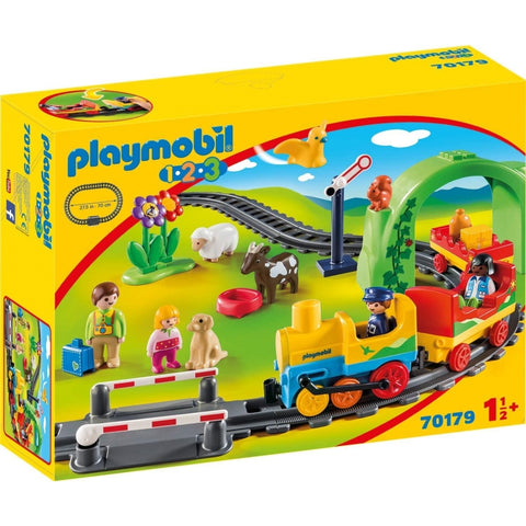 PLAYMOBIL 1.2.3 My First Train Set 70179