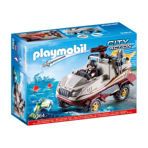 PLAYMOBIL Amphibious Truck with Underwater Motor 9364