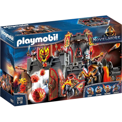PLAYMOBIL Burnham Raiders Fortress 70221