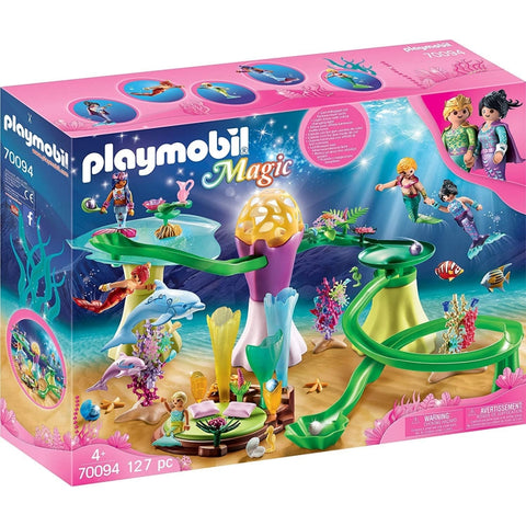 PLAYMOBIL Mermaid Cove with Illuminated Dome 70094