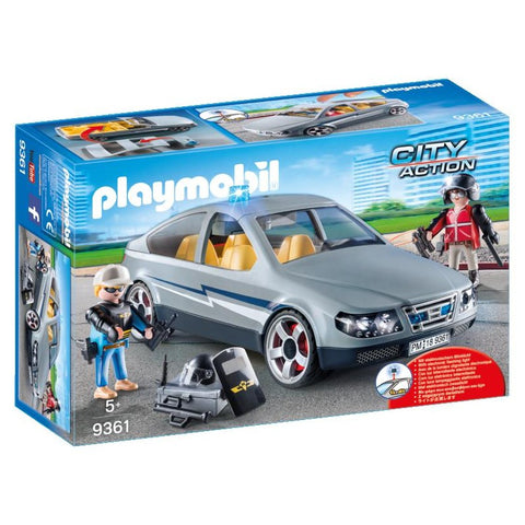 PLAYMOBIL City Action SWAT Undercover Car 9361