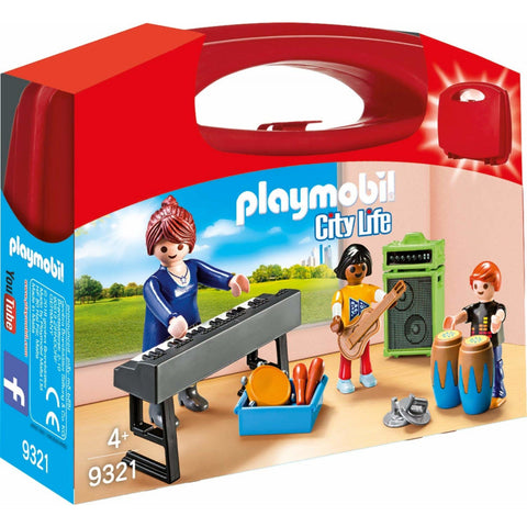 PLAYMOBIL City Life Music Class Carry Case 9321