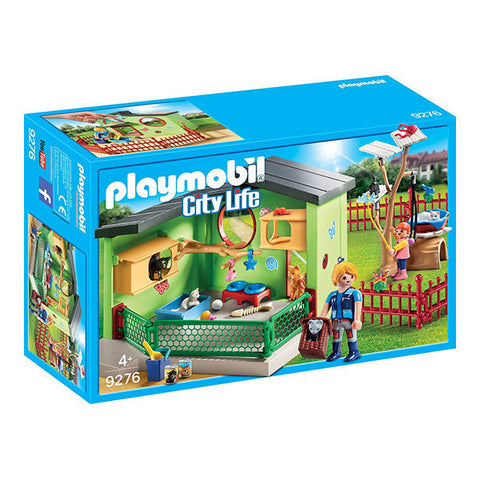 PLAYMOBIL City Life Purrfect Stay Cat Boarding 9276