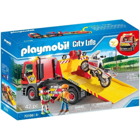 PLAYMOBIL City Life Towing Service 70199