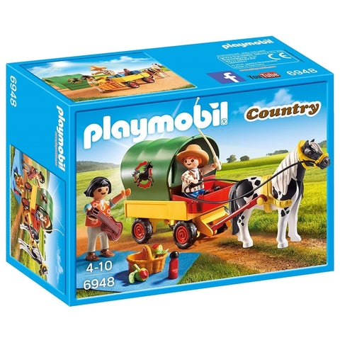 PLAYMOBIL Country Country Picnic with Pony Wagon 6948