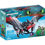 PLAYMOBIL Dragons Deathgripper with Grimmel 70039