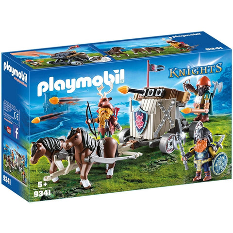 PLAYMOBIL Horse-Drawn Ballista 9341