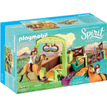 PLAYMOBIL Lucky & Spirit with Horse Stall 9478