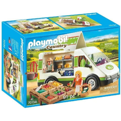 PLAYMOBIL Mobile Farm Market 70134