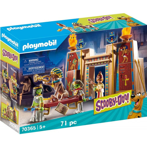 PLAYMOBIL SCOOBY-DOO! Adventure in Egypt 70365