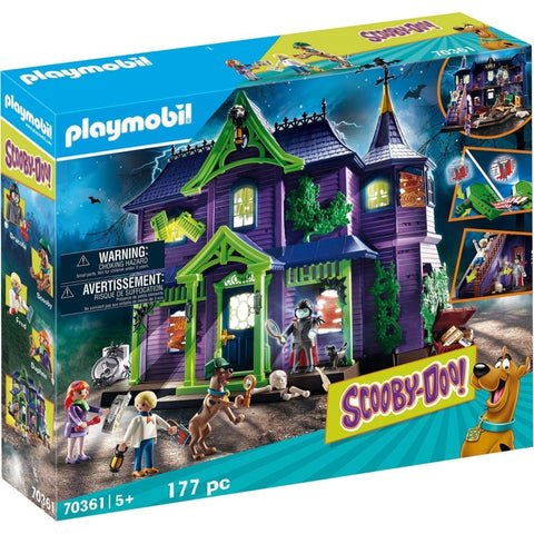PLAYMOBIL SCOOBY-DOO! Adventure in the Mystery Mansion 70361