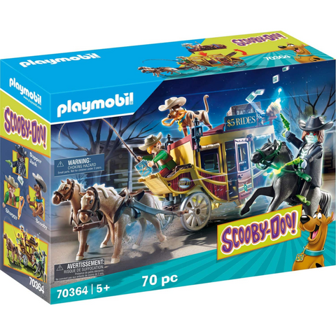 PLAYMOBIL SCOOBY-DOO! Adventure in the Wild West 70364