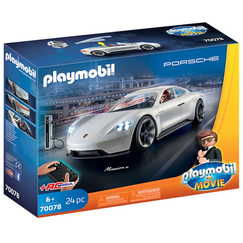 PLAYMOBIL: THE MOVIE Rex Dasher's Porsche Mission E 70078