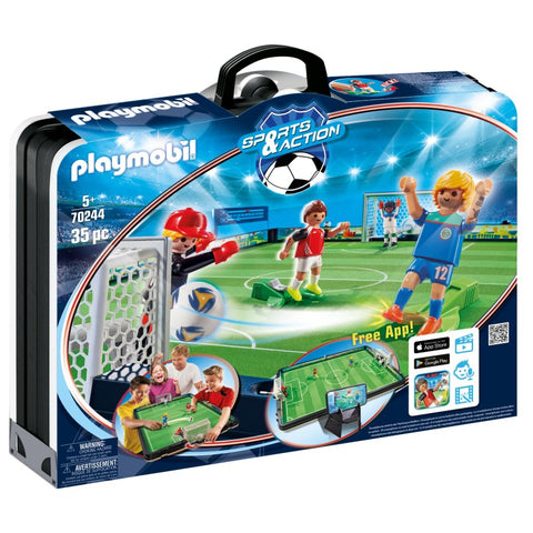 PLAYMOBIL Take Along Soccer Arena 70224