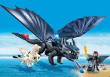 PLAYMOBIL Dragons Hiccup and Toothless with Baby Dragon 70037