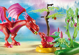 PLAYMOBIL Friendly Dragon with Baby 9134